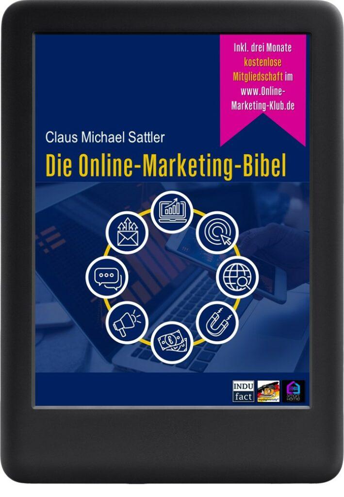 "www.online-marketing-klub.de - Das eBook ""Die Online-Marketing-Bibel"""